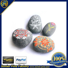 Engrave stone with color filled ,as paper weight ,Suitable for Office or home accessories