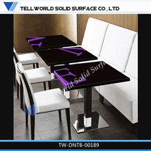 Factory supply high quality restaurant dinning table