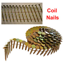 Galvanized Coil Nails Factory