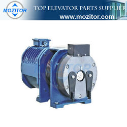 elevator gearless traction machine|lift traction machine|traction machine supplier