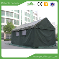 durable and 100% waterproof military canvas tents