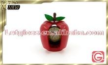 Feature zinc alloy apple shaped retro clock