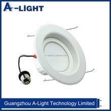 """Energy Star UL Listed Led Downlight Retrofit Kit for 5""""/6"""" Can with white smooth trim Dimmable"""