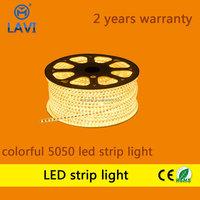 high quality led strip lights with 5050 flexible small led strip 120led/m R/G/B/Y/W/RGB Option