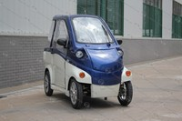 2 seats EEC Approval solar electrical car