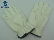 Grano de la vaca cuero guantes de trabajo/de cuero guantes de trabajo