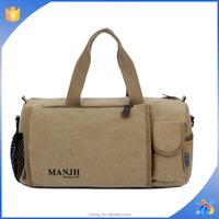 hot selling manufacturers cheap designer soccer sport large bulk leisure canvas handbag made custom