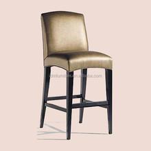 China Foshan hotel solid wooden bar chair furniture IDM-C014