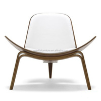 Hans Vagner wooden Shell outdoor chair