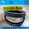 Wholesale China Special Price Promotional Silicon Wristband Color Debossed Silicone Wristbands
