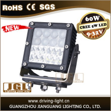 High Power Spot CREE 60W LED Work Light Square 12V Offroad LED Light Work CE RoHS