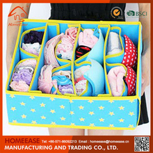 Wholesale high quality foldable save space non woven bra storage container