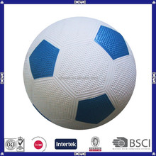 China hot sell cheap OEM logo customized hot sell popular rubber soccer