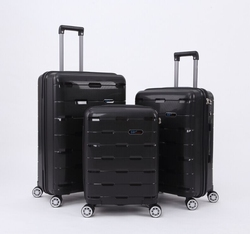 * high quality PP trolley luggage