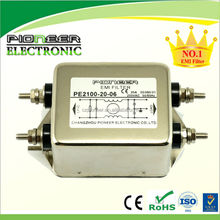 electronics 6-100A PE2100-20-06 for Control cabinet single phase electromagnetic choke filter