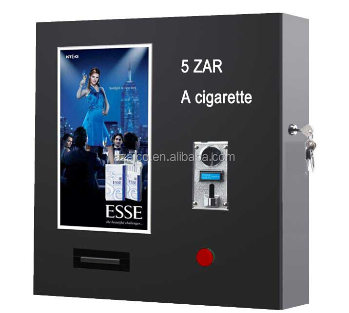 wall mounted cigarette vending machine