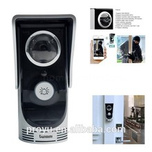 Beautiful 1.2W speaker and Sensitive Mic Embedded LED Wifi Video Door Phone