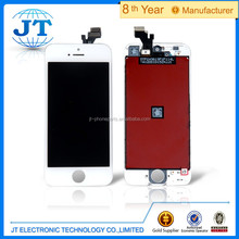 Wholesale Mobile parts for iphone 5 LCD screen with Digitizer Accessory Original