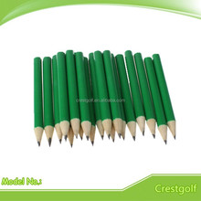 Personalized full color hexagonal and round golf pencils