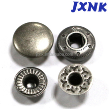 eco-friendly fastening jacket snaps button stainless steel snap fastener