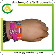 dont deformation customized diy wrist strap for corporate gifts