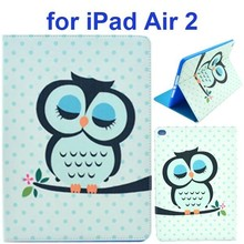 2015 Best Hot Sale Tablet Cover for ipad air 2 Leather Case with Stand and Card Slots