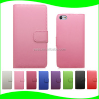 For Apple iPhone 5 Wallet Case, for Apple iPhone 5 Wallet Leather Cover