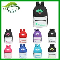 Fashion Colorful Backpack Canvas Backpack