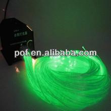 translucent side light fiber optic,Side light plastic optical fiber for decoration