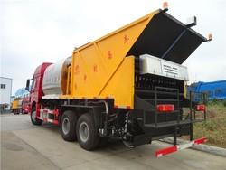 Top grade sino truck 10 wheeler 6x4 asphalt synchronous chip sealer