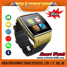 capacitive touch screen cheap watch phone,compatible with Android/IOS, APPs notify.
