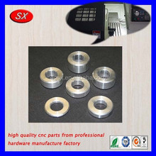 OEM aluminum spacers use for rack steering,cnc turning spacer for hinge,stainless steel spacer for electrical parts