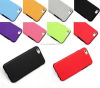 Rugged Ultra Slim TPU & PU Back Case For Iphone 6
