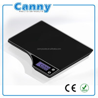 touch sensor electronic kitchen scale digital kitchen diet food weight scale blue backlight option