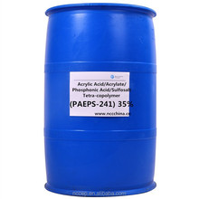Acrylic Acid Acrylate Phosphonic Acid Sulfosalt Tetra-copolymer (PAEPS-241) 35% scale inhibitor and dispersant