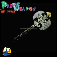 Halloween weapon, decorative knives and swords, double axes