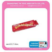 2014 producto de venta caliente juguete de broma de simulación gomademascar burbuja de juguete de broma palo