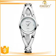 High quality waterproof women fashion bracelet alloy watch