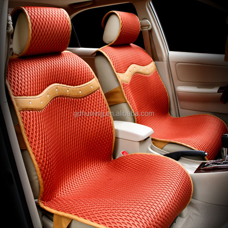 chinese car accessories sandwich polyester seat cover for car air cooled seat cushion buy air. Black Bedroom Furniture Sets. Home Design Ideas