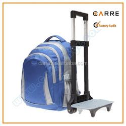 rolling trolley school backpack with wheels