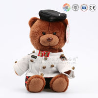 Plush toy factoy custom any size and style 0.2 to 5 ft teddy bear