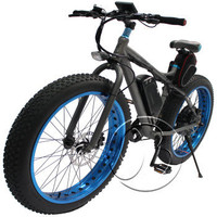 1000W/48V Al alloy fat tyres electric bicycle conversion kit in china