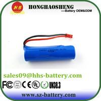 Hot sale battery 15c 18650 battery 3.7v 1500mah rc helicopter battery for boat RC helicopter
