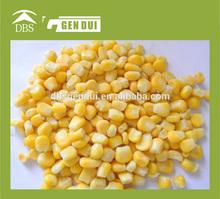 chino congelados grano de maíz dulce