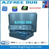 2015 Newest receptores iks sks azfree duo with iptv iks sks free for Latin America