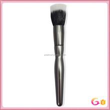 Black and white nylon hair highlighting brush