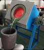 50kw super audio metal induction tilting furnace
