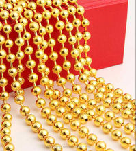 Fashion metallic beads string curtain with good quality