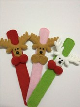 Hot sale Christmas Sika deer clap circle adorn article products