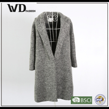 New products 2015 innovative product women new style jacket, woolen jacket